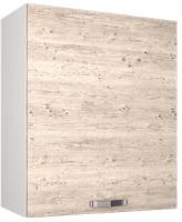 Шкаф навесной для кухни Anrex Alesia 1D/60-F1 (серый/сосна винтаж) -