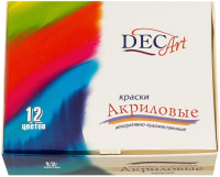 Акриловые краски DecArt 8079626 / 24-12.20-50 (12цв) -