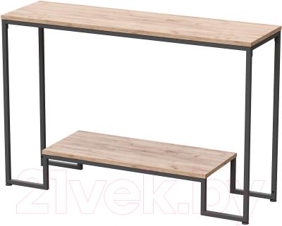 Консольный столик Millwood Пекин 4 Лофт Л 120x35x80