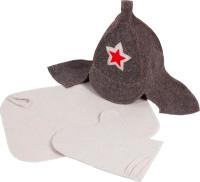 Набор текстиля для бани Банная Линия Буденовка / 11-366 -