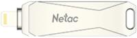 Usb flash накопитель Netac USB Drive U652 USB 3.0+Lightning 64GB (NT03U652L-064G-30PN) -