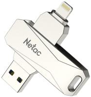 Usb flash накопитель Netac USB drive U652 USB 3.0+Lightning 128GB (NT03U652L-128G-30PN) -