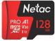 Карта памяти Netac MicroSD Card P500 Extreme Pro 128GB (NT02P500PRO-128G-R) (с адаптером) -