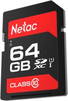 Карта памяти Netac P600 Standard SD 64GB (NT02P600STN-064G-R) -