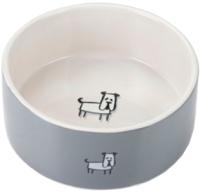 Миска для животных Beeztees Lou / 651522 (серый) -