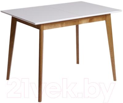Обеденный стол Экомебель Дубна Скандинавия мини 70x105-137.5
