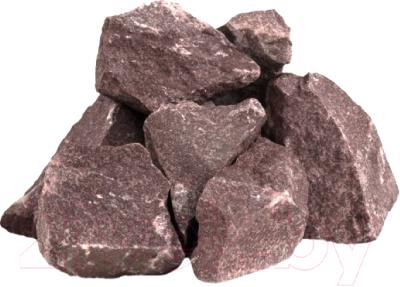 Камни для бани No Brand Малиновый кварцит колотый крупный