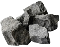 Камни для бани No Brand Габбро-диабаз колотый (крупный) -