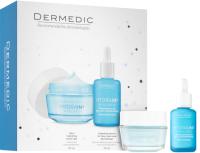 Набор косметики для лица Dermedic Hydrain3 сыворотка+крем-гель сильноувлажняющий  (30мл+50г) -