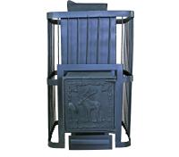Печь-каменка КомфортПром Чугун закрытая 10013017 (103кг) -