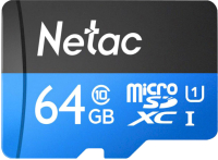 Карта памяти Netac P500 Standard 64GB (NT02P500STN-064G-S) -