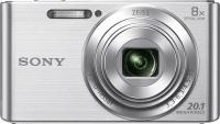 Компактный фотоаппарат Sony Cyber-shot DSC-W830 (серебристый) -