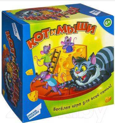 Настольная игра Dream Makers Кот и мыши / 707-38