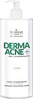 Тоник для лица Farmona Professional Dermaacne+ грушевый антибактериальный (500мл) -