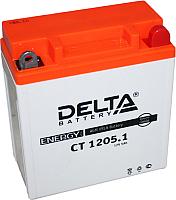 Мотоаккумулятор DELTA AGM СТ 1205.1 12N5-3B / YB5L-B (5 А/ч) -