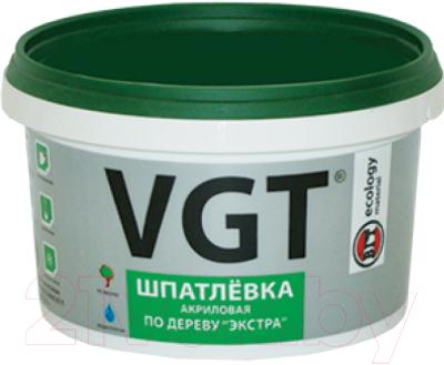 Шпатлевка VGT Экстра по дереву (300г, сосна)