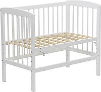 Детская кроватка Polini Kids Simple 100 (белый) -