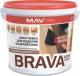 Шпатлевка MAV Brava Profi-1 по дереву (1.3кг, белый) -