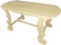 Стол для бани Банная Линия Фигурный 12-813 (120x63x73) -