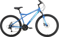 Велосипед Black One Element 26 D 2021 (20, синий/белый) -