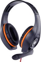 Наушники-гарнитура Gembird GHS-05-O (Orange/Black) -