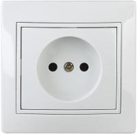 Розетка INTRO Plano 1-201-01 / Б0027607 (белый) -