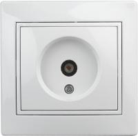 Розетка INTRO Plano 1Э-301-01 / Б0038834 (белый) -