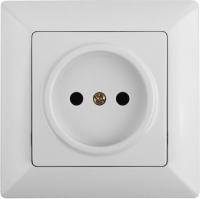 Розетка INTRO Solo 4-201-01 / Б0043305 (белый) -
