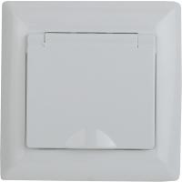 Розетка INTRO Solo 4-203-01 / Б0043319 (белый) -