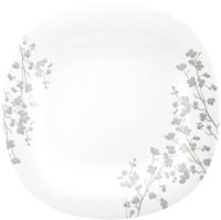 Тарелка столовая глубокая Luminarc Carine Ombrelle P3629 (белый) -
