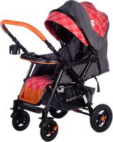 Детская прогулочная коляска Babyhit Sense Plus (Grey Red) -