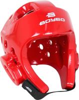 Шлем для таэквондо BoyBo Premium / BHT44 (XS, красный) -