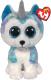 Мягкая игрушка TY Beanie Boo's Щенок хаски Helena / 36458 -