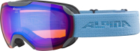 Маска горнолыжная Alpina Sports 2020-21 Pheos S HM / A72148-22 (серый/синий) -