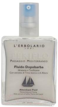 Лосьон после бритья L'Erbolario Кругосветное плавание с экстрактом белого тмина и лавра (100мл)