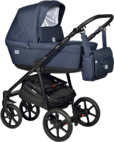 Детская универсальная коляска INDIGO Broco 2 в 1 (Br 06, темно-синий) -