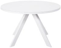 Обеденный стол Aero Fargo 120 (белый) -