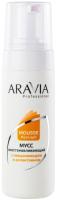 Мусс после депиляции Aravia Professional Восстанавливающий с ниацинамидом и аллантоином (160мл) -