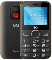 Мобильный телефон BQ Comfort BQ-2301 (черный/золото) -