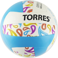 Мяч волейбольный Torres Beach Sand Blue / V32095B (размер 5) -