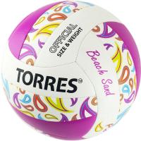 Мяч волейбольный Torres Beach Sand Pink / V32085B (размер 5) -