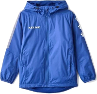 Ветровка детская Kelme Windproof Jacket Kids / 3883211-409 (р-р 130, синий) -