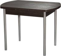 Обеденный стол Древпром М2 100x67 (металлик/кантенбери) -