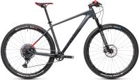 Велосипед Cube Reaction C:62 SL 2021 (17, красный/серый) -