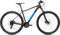 Велосипед Cube Aim Pro 27.5 2021 (14, Black/Blue) -