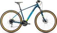 Велосипед Cube Aim Race 29 2021 (17, Blueberry/Lime) -