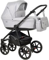 Детская универсальная коляска INDIGO Broco 2 в 1 (Br 04, светло-серый) -