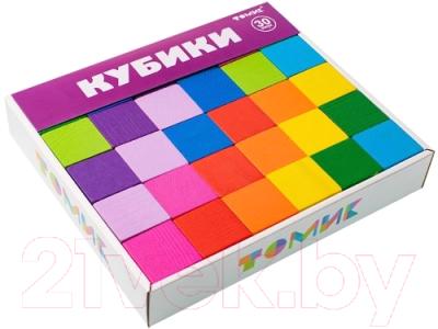 Развивающая игрушка Томик Кубики. Цветные / 1-45
