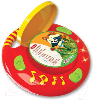 Фото - Музыкальная игрушка Азбукварик CD-Плеер с огоньками. Песенки из мультиков / 1886 электронные игрушки азбукварик плеер мультяшка 2020