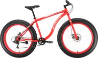 Велосипед Bravo Fat 26 D 2021 (18, красный/белый) -